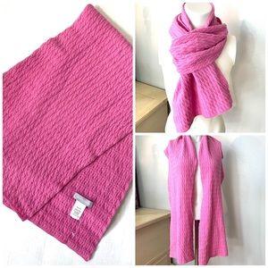 NWOT Nordstrom Cashmere/Silk Pink Scarf